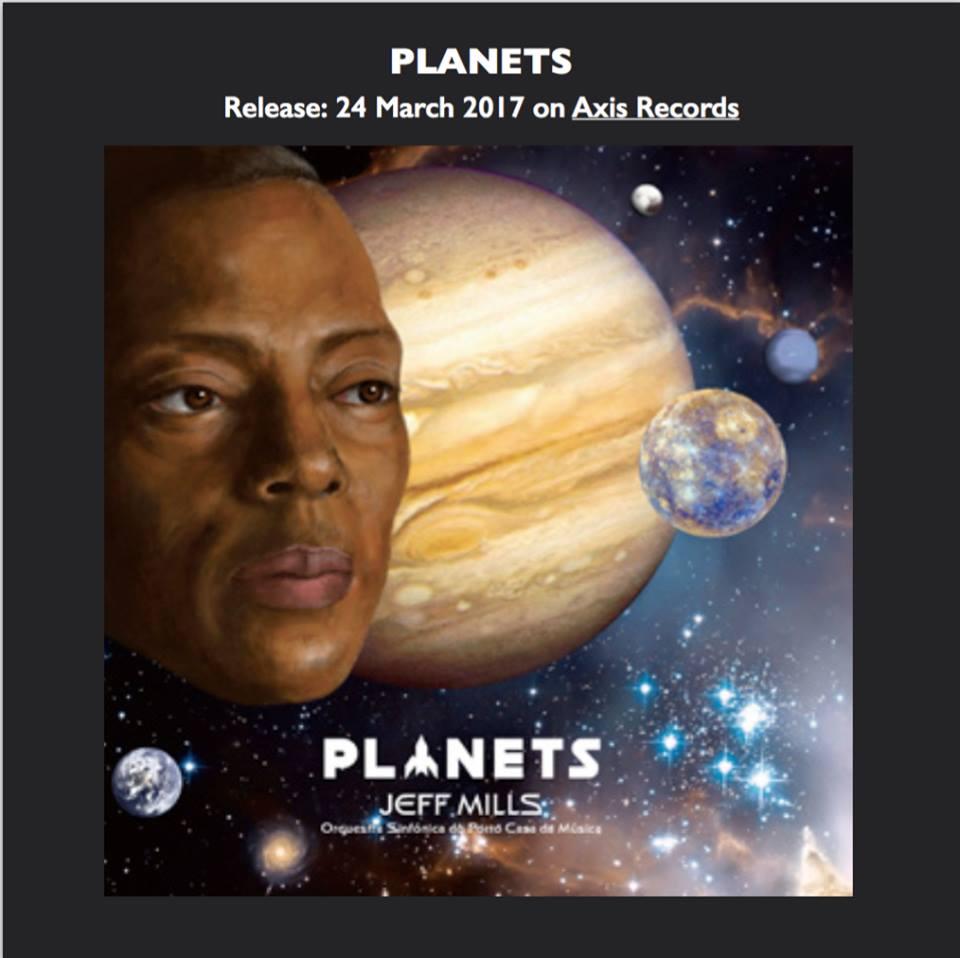 Full details of Jeff Mills's new album Planets revealed