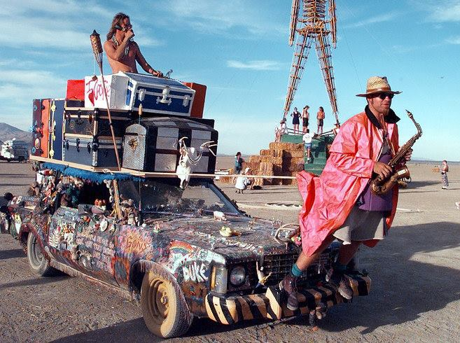 Photos Reveal How Life At Burning Man Really Looks Like