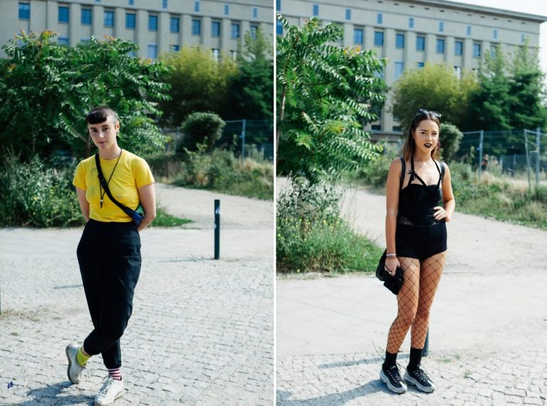 Berghain outfit The One