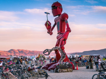 Burning Man announces I, Robot theme for 2018