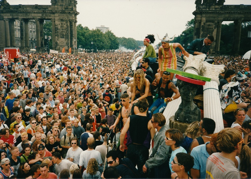 Unbelievable photos of Berlin Love Parade