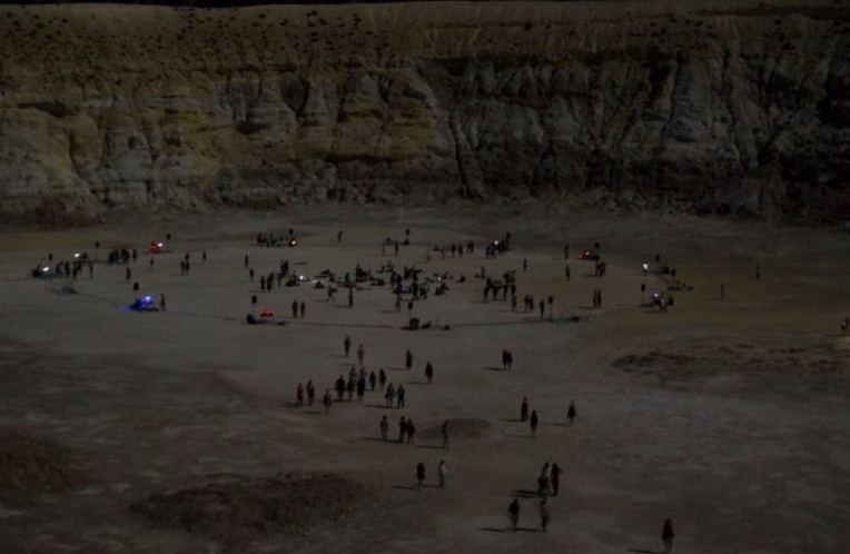 Rave In Active Volcano Crater?