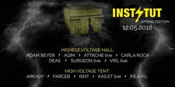Win Tickets For HIGHEST VOLTAGE Rave W/ Adam Beyer at Instytut