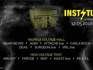 Win Tickets For HIGHEST VOLTAGE Rave W/ Adam Beyer at Instytut