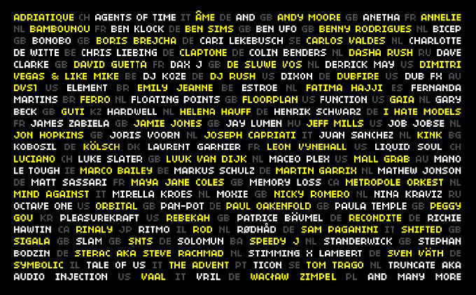Amsterdam Dance Event reveals first names