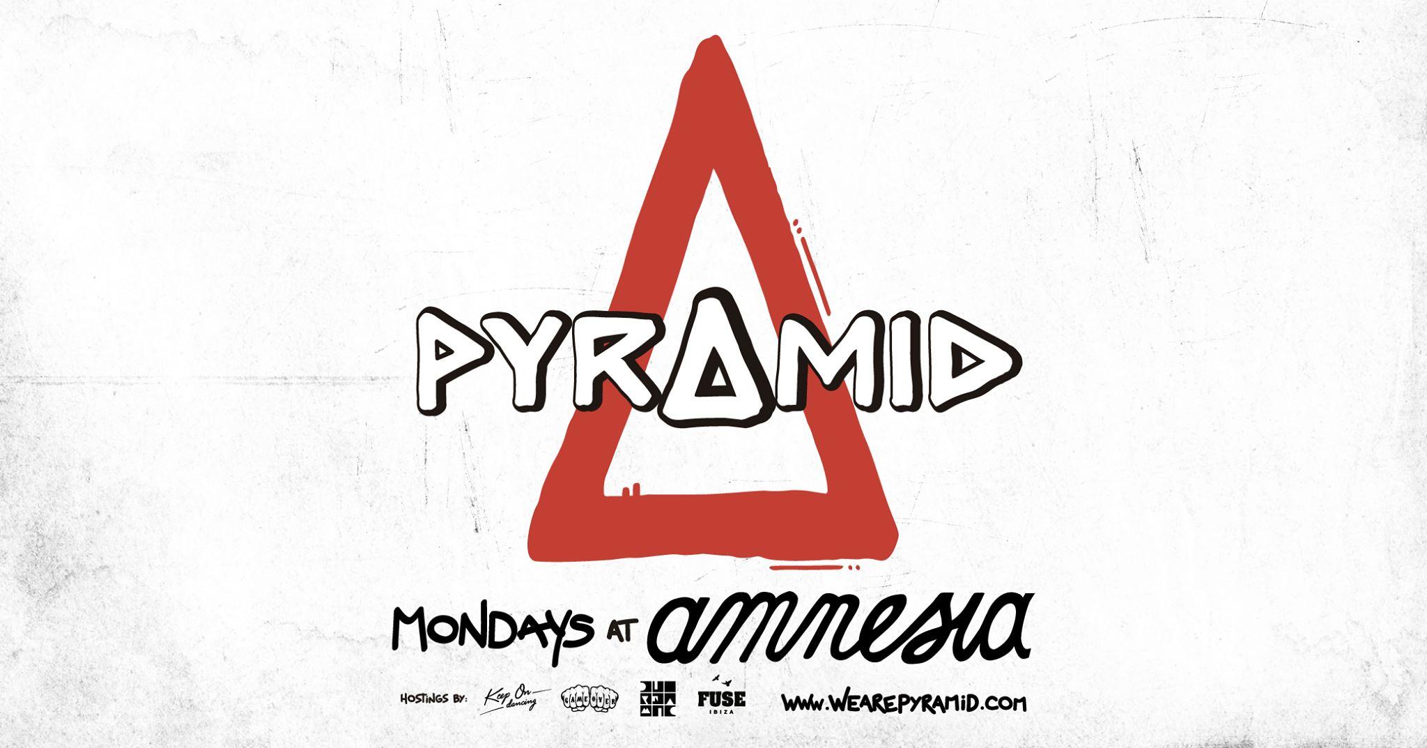 Ricardo Villalobos B2B Luciano, Charlotte de Witte, Joris Voorn next Monday at Pyramid at Amnesia Ibiza