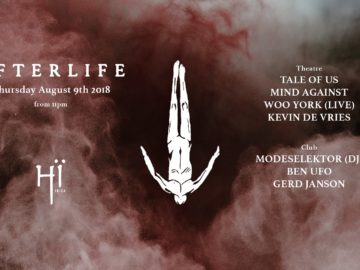 Afterlife at Hi Ibiza on August 9th 2018