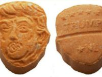 Ecstasy Pills Pressed As Donald Trump In Circulation Again