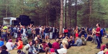Police Allowed 1000 People to Rave in the Woods