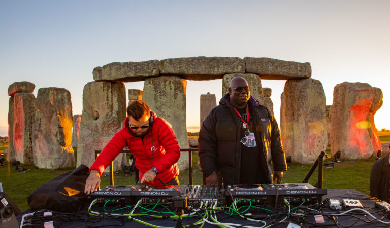 Carl Cox and Paul Oakenfold are the first DJs to play at Stonehenge
