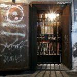 Door of Tresor club is an exhibit at a Museum