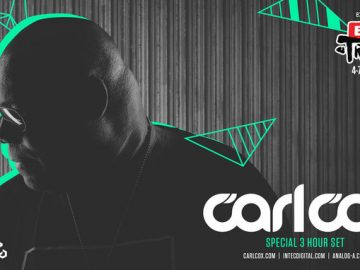 Carl Cox is Coming Back to EXIT with a Special 3 hour Set