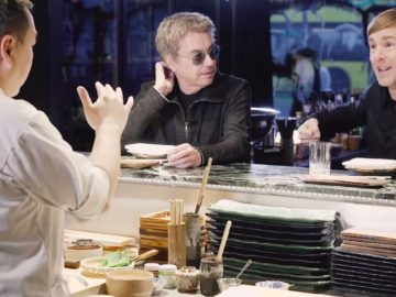 Jean-Michel Jarre and Richie Hawtin went on a 'blind date'