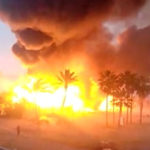 Spanish Club Playa Padre Consumed By Fire (Video)