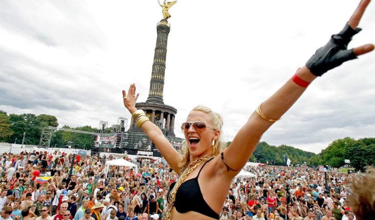 Legendary Berlin Love Parade In Photographs