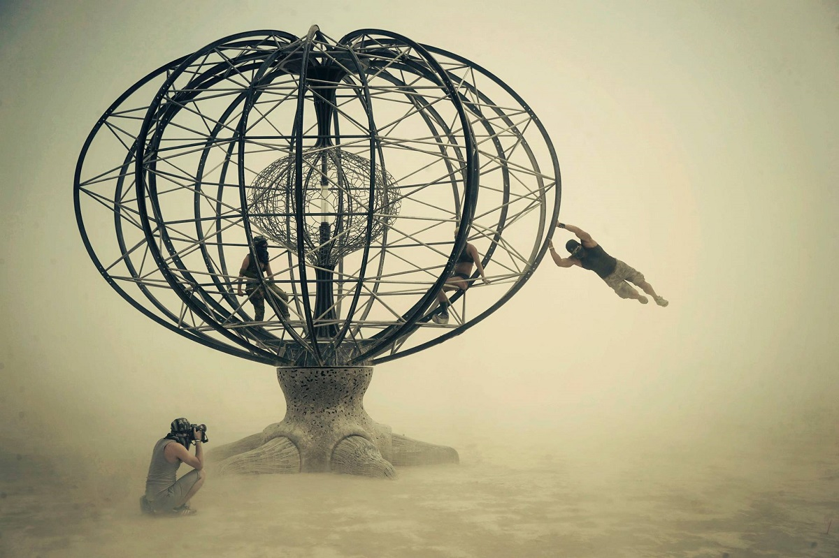 Burning Man In 50 Unreal Photographs