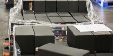 Police Seize 1.7 Tons of Meth Hidden in Speakers