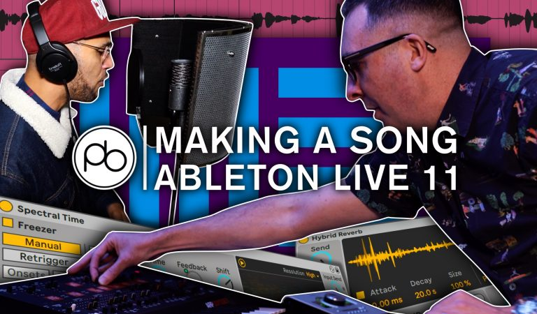 How to Make a Full Song in Ableton Live 11 with Point Blank's Ski Oakenfull